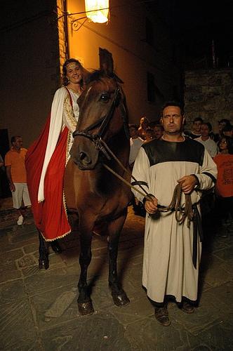 ingresso a cavallo