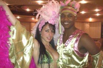 Costumi latino americano e samba