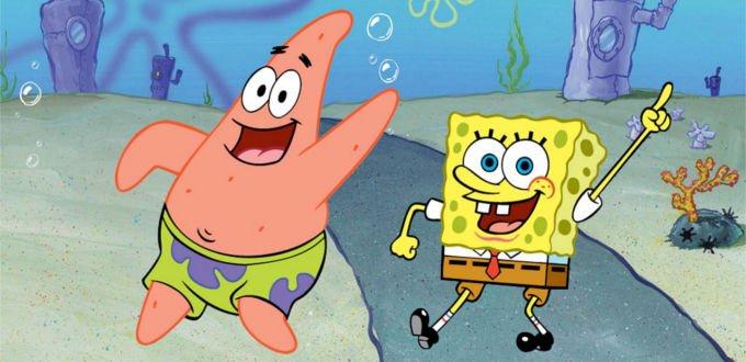 Costume di Spongebob e Patrick Stella