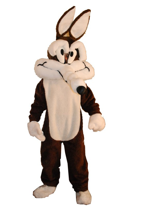 Costumi cartoni animati wile coyote e beep beep noleggio costumi e
