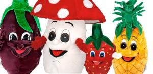 mascotte vegetali