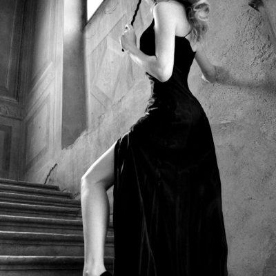 abito da sera nero
