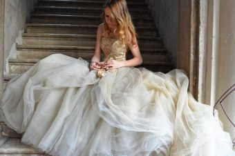 Abito da sposa pomposo