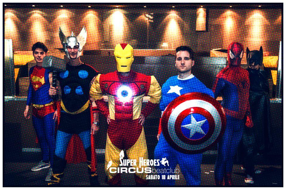 Supereroi per Circus Beat Club - Noleggio costumi e abiti d epoca 130d2c39b84