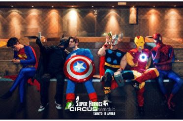 Supereroi per Circus Beat Club