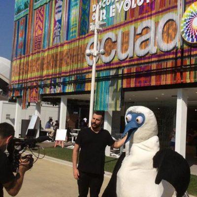 boobie mascotte equador