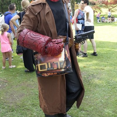 Cosplay Hellboy