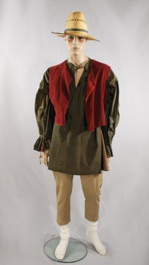 abito storico popolano