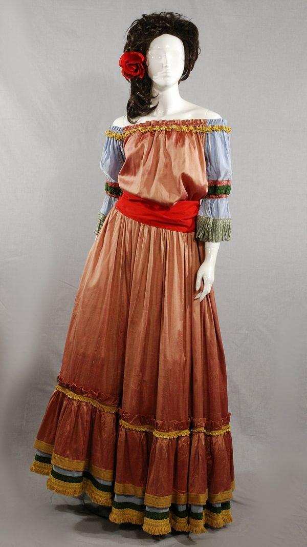 Abito storico 1850 Gitana