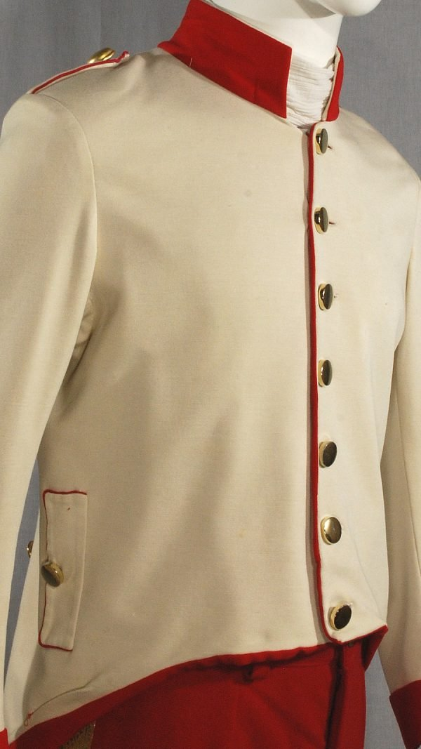 Uniforme storica soldato spagnolo 1850