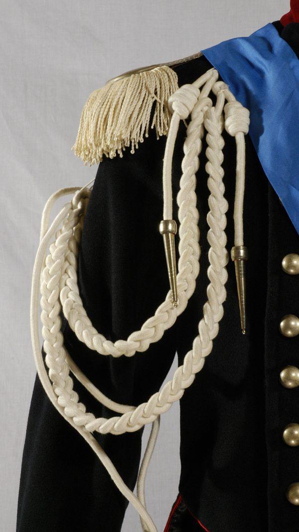 Abito storico ufficiale piemontese 1850