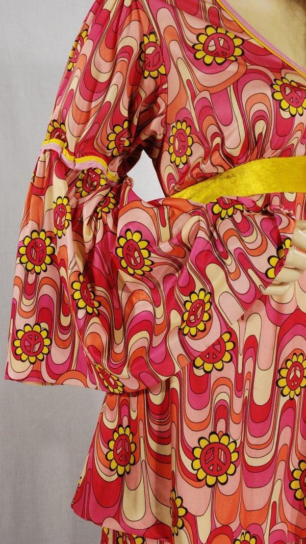 abito vintage 1970 multicolor