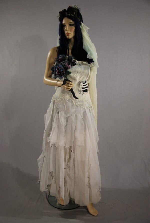 Vestiti Da Sposa Halloween.Sposa Cadavere Noleggio Costumi E Abiti D Epoca