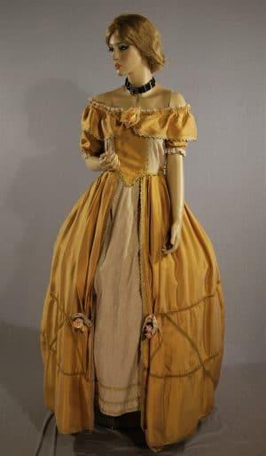 Abito storico ottocentesco Anfisa, Ottocento