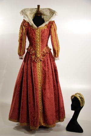 Abito storico rinascimentale Lucrezia Borgia